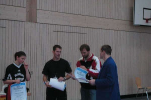 1. Ranglistenturnier 08.02.2003